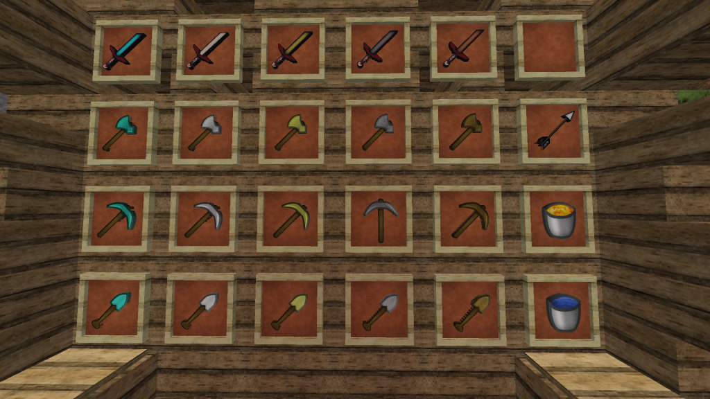 Minecraft PvP Texture Pack Poke Pack: Weapons