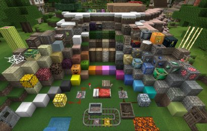 Chroma Hills Resource Pack: Blocks