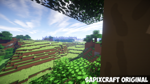 SapixCraft Resource Pack: Tree