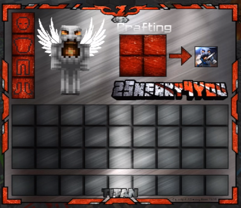 Animated PvP Texture Pack Titan V3: Inventory